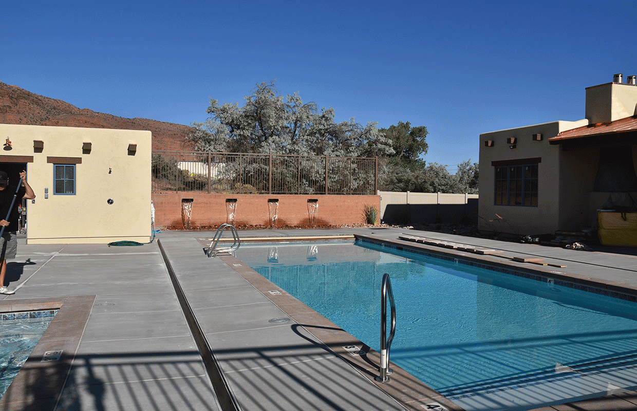 Slick Rock Lodge Pool
