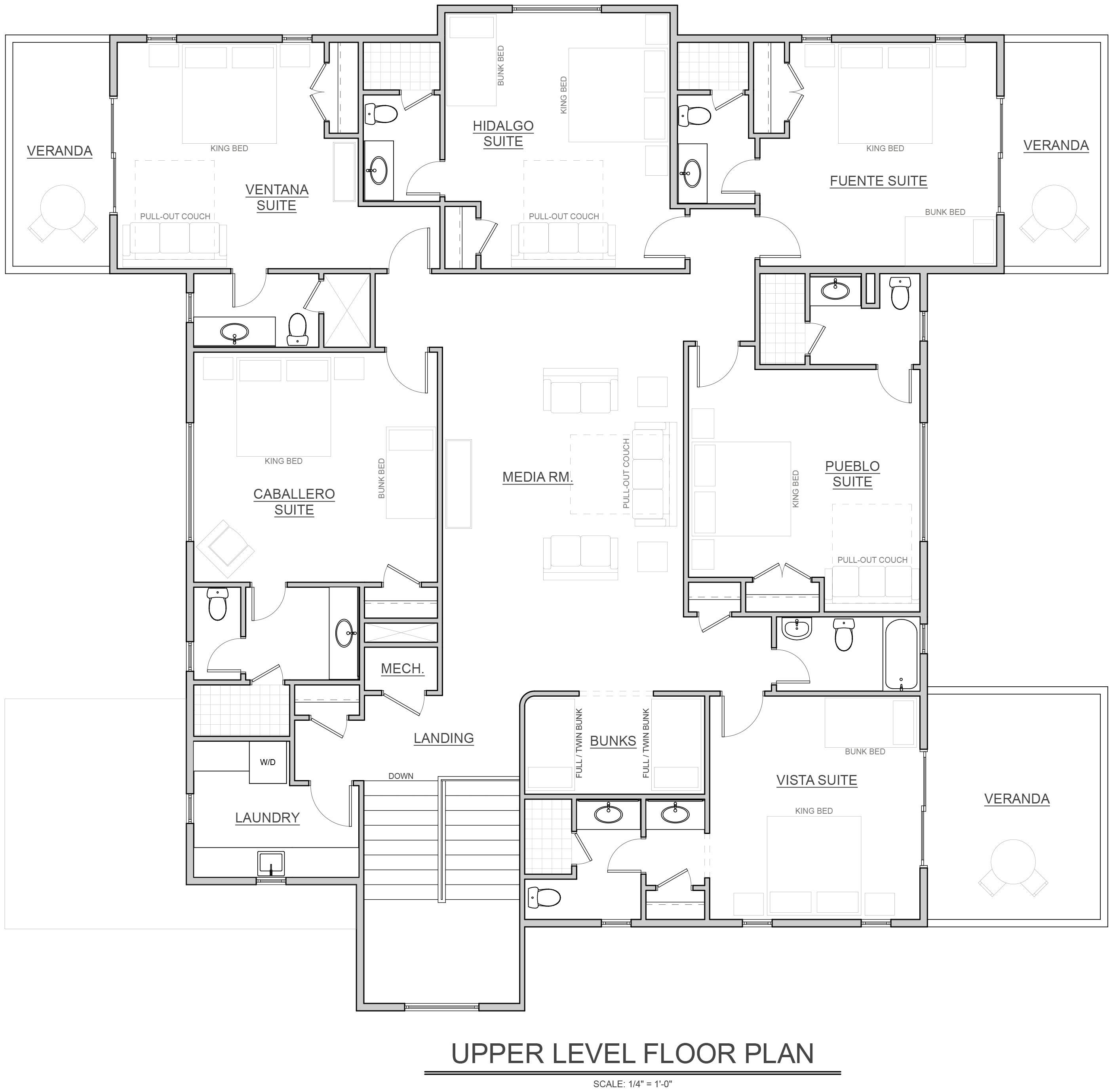 Lodge Floor Plans Slick Rock Lodge